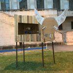 Mucca Euro 6, un'installazione artistica contro gli allevamenti intensivi
