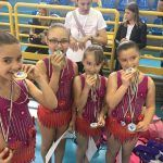 Le ginnaste dell'ASD VRG RYTHMIKIS Latina conquistano 11 titoli Nazionali