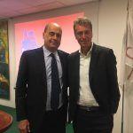 Crisi idrica e Reti d'Impresa, il presidente di Confcommercio Lazio sud Acampora incontra il Governatore Zingaretti