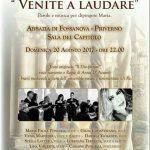 """""""Venite a Laudare"""": l'arte sacra torna ad animare l'Abbazia di Fossanova"""